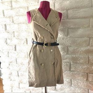 Michael Kors 100% Linen Dress Sz S